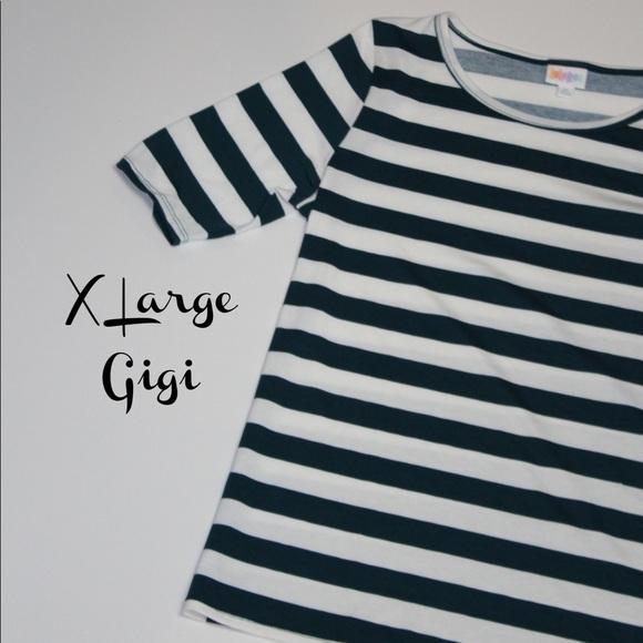 LuLaRoe Tops - LuLaRoe XL Gigi Top